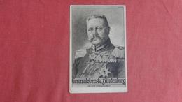 Hindenburg      -ref  2444 - Politicians & Soldiers