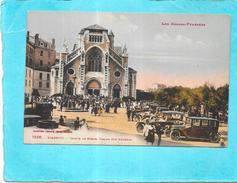 BIARRITZ - 64 - CPA COLORISEE - Sortie De Messe - Eglise Sainte Eugénie - AUT - - Biarritz
