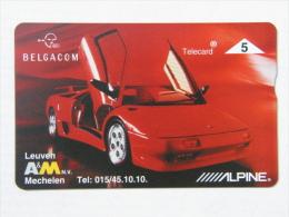 P 397. Alpine Lamborghini. 1000 Ex. - Belgium