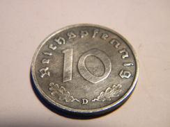 ALLEMAGNE - 10 REICHSPFENNIG 1941.D.