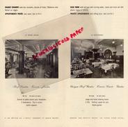 SUISSE - DEPLIANT TOURISTIQUE GENEVE- LA RESIDENCE HOTEL RESTAURANT- 11 ROUTE DE FLORISSANT-MANAGER G.E. LUSSY - Dépliants Turistici