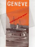 SUISSE - DEPLIANT TOURISTIQUE GENEVE-   EXPOSITION ART ESPAGNOL DU MUSEE DU PRADO -1 ER JUIN -FIN AOUT 1939 - Dépliants Touristiques