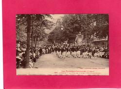 31 HAUTE GARONNE, LUCHON, La Fête Des Fleurs, Défilé Des Guides, Animée, (Labouche) - Luchon