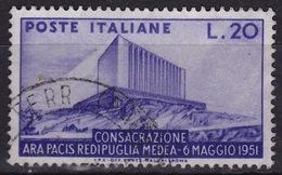 1951 MiNr. 829 Ara Pacis Gestempelt (b160703) - 6. 1946-.. Republic