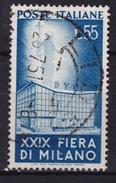 1951 MiNr. 831 Fiera Di Milano 55 Lire Gestempelt (b160801) - 6. 1946-.. Republic