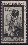 1951 MiNr. 842 Radweltmeisterschaft (b160802) - 6. 1946-.. Republik