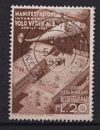 1951 MiNr. 830 Fiera Di Milano 20 Lire Gestempelt (b160803) - 6. 1946-.. Republic