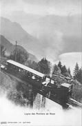 SUISSE  Ligne Des Rochers De Naye   Train   2 Scans - VD Vaud