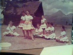 "Slovakia Vysoké Tatry/Slovacchia"" RAGAZZE IN COSTUME  N1970  FW9774 - Slovacchia"