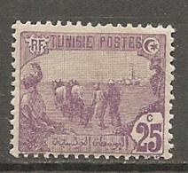 TUNISIE - Yv  N°  72   *  25c   Cote  0,5 Euro  BE   2 Scans - Tunisie (1888-1955)