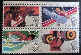 Etats-Unis - Timbres Neufs ** - Jeux Olympiques - Bloc De 4 - Etats-Unis