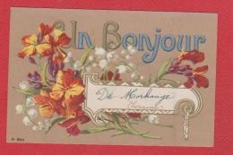 Morhange  --  Un Bonjour De Morhange - Morhange