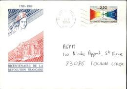 FRANCE - Enveloppe Envoyée D´une Base Aérienne - Pour étude Des Bases - Détaillons Collection - A Voir - Lot N° 21046 - Marcophilie (Lettres)
