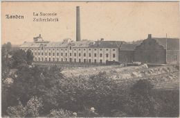 28178g   SUCRERIE - ZUIKERFABRIK - Landen - 1919 - Landen