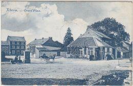 28183g  GRAND'PLACE - FONTAINE - LAVANDIERE - CHARRETTE A CHEVAL - Xhoris - 1909 - Ferrières