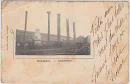 28192g  LAMINOIRS - USINE - Jemappes - 1902 - Mons