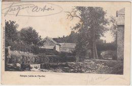 28203g  RUISSEAU - PASSERELLE -  HABITATION - Palogne - 1906 - Ferrières