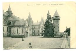 C 26    VICHY CHATEAU DE BOURBON BUSSET 1909 - Vichy