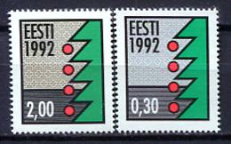 Estonia 1992 / Christmas MNH Nöel Navidad / Jo21  32 - Natale
