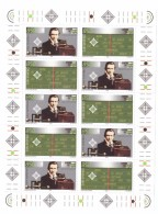 SAN MARINO - FOGLIETTO - BF - ANNO 1995 - CENTENARIO DELL'INVENZIONE DELLA RADIO - GUGLIELMO MARCONI - 2 VALORI RIPETUTI - Blocchi & Foglietti