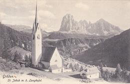 Gröden-St.Jakob M.d.Langkofel. - Austria