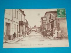 33 ) Bégles - Rue De La République  - Année 1923  EDIT - MD - France