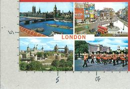 CARTOLINA VG REGNO UNITO - LONDON - Piccadilly Circus - Vedutine - 9 X 14 - ANN. 1971 - Piccadilly Circus
