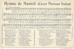 Partition: Hymne De Mameli (chant National Italien) - Musique De Novaro - Edition H-J-W - Música Y Músicos