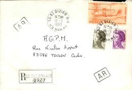 FRANCE - Enveloppe Envoyée D´une Base Aérienne - Pour étude Des Bases - Détaillons Collection - A Voir - Lot N° 21052 - Air Post