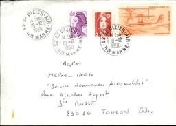 FRANCE - Enveloppe Envoyée D´une Base Aérienne - Pour étude Des Bases - Détaillons Collection - A Voir - Lot N° 21053 - Air Post