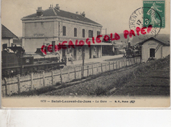 39 - SAINT LAURENT DU JURA - LA GARE 1911 - Otros Municipios