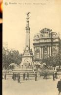 Bruxelles - Place De Brouckère - Monument Anspach / Thill Série 1, N° 66 (1923) - Bruxelles-ville