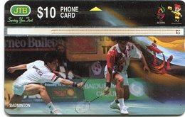 Used Card From Brunei (906D...) - Brunei