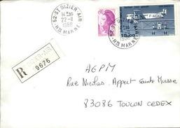 FRANCE - Enveloppe Envoyée D´une Base Aérienne - Pour étude Des Bases - Détaillons Collection - A Voir - Lot N° 21051 - Air Post