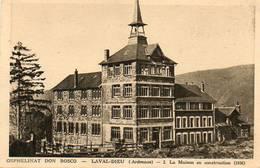 CPA - LAVAL-DIEU (08) - Aspect De L'Orphelinat Don Bosco En Construction En 1936 - France