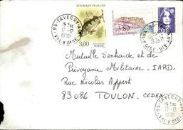 FRANCE - Enveloppe Envoyée D´une Base Aérienne - Pour étude Des Bases - Détaillons Collection - A Voir - Lot N° 21056 - Air Post