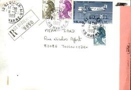 FRANCE - Enveloppe Envoyée D´une Base Aérienne - Pour étude Des Bases - Détaillons Collection - A Voir - Lot N° 21057 - Air Post