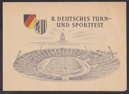 East Germany / DDR / GDR: Commemorative Booklet, 1956, 4 Stamps, Turn & Sportfest, Sports, Athletics (traces Of Use) - [6] Oost-Duitsland