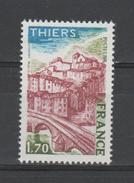FRANCE / 1976 / Y&T N° 1904 ** : Thiers - Gomme D'origine Intacte - France