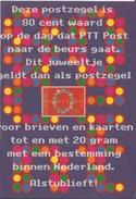 1998 Netherlands Complete M/Sheet Nulzegel MNH/Postfris/Neuf Sans Charniere - Nederland