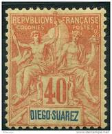 Diego-Suarez (1893) N 47 * (charniere) - Nuovi