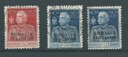 Rareté - Somalie Italienne - Série  67 / 69 Oblitéré DENTELE 11 -  Cw 155 - Somalia