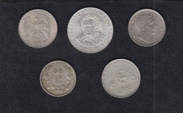 EUROPA.  LOTE DE 5 MONEDAS.  AUSTRIA, ALEMANIA,ITALIA,RUMANIA... - Monedas