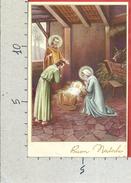 CARTOLINA VG ITALIA - BUON NATALE - Natività - Sacra Famiglia - 9 X 14 - ANN. 1958 - Natale