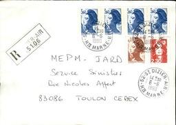 FRANCE - Enveloppe Envoyée D´une Base Aérienne - Pour étude Des Bases - Détaillons Collection - A Voir - Lot N° 21059 - Air Post