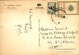 TURQUIE - Lettre Pour La France - N° 21492 - Brieven En Documenten