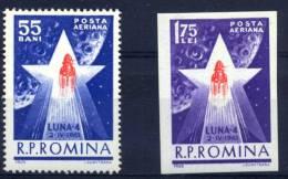 ROMANIA Luna 4 - Space
