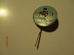 RUSSIA USSR AUTOMOBILE OLDTIMER OLDSMOBILE 1904PIN BADGE , O - Andere