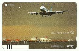 Giappone - Tessera Telefonica Da 105 Units T192 - NTT, - Avions
