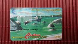 British Virgin Island Number 218 CVVA  Phonecard  Used  Rare